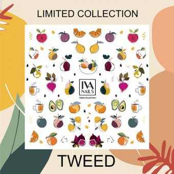 "Изображение Слайдер-дизайн IVA nails ""Tweed"" №3"