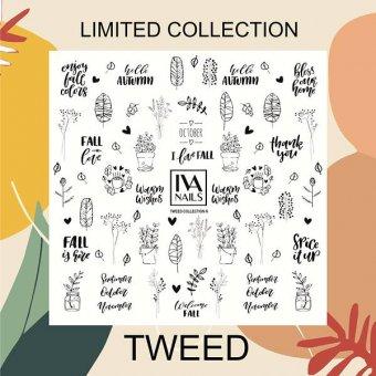 "Изображение Слайдер-дизайн IVA nails ""Tweed"" №6"