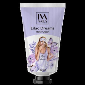 """Изображение Крем для рук увлажняющий IVA nails """"Lilac Dreams""""(40мл.)"""