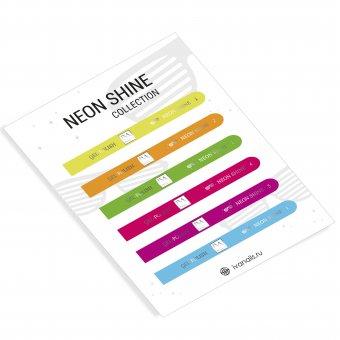 Изображение Наклейки на типсы Neon Shine