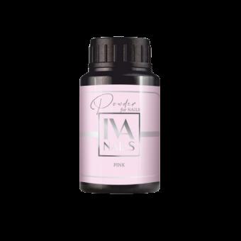 """Изображение Powder for nails BASE """"PINK"""" 30 ml (Камуфлирующая база - розовая)"""