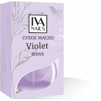 Изображение Сухое масло Violet с шиммером 12 ml