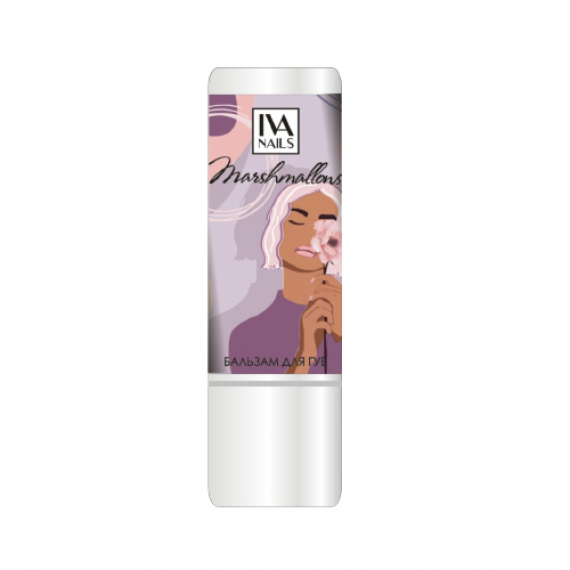 Бальзам для губ IVA nails Marshmallows